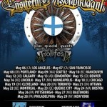 ensiferum Korpiklaani north america