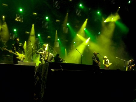 Flogging Molly Zwarte Cross 2015