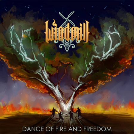 Windmill Dance of Fire and Freedom