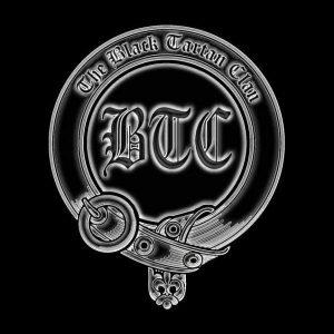 The Black Tartan Clan logo